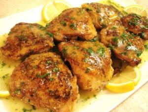 honey lemon microwave chicken