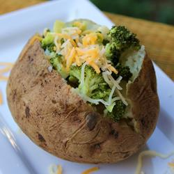 microwave baked potato